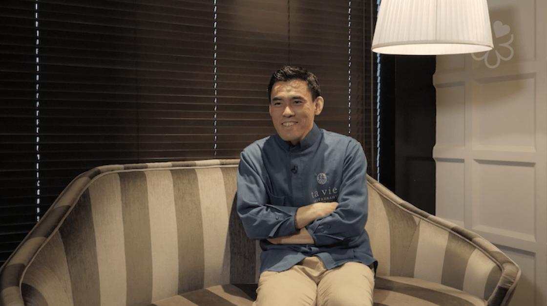 佐藤秀明期待的完美情人節,是能體驗當顧客的感受,和太太好好地享受美食,盡情聊天。