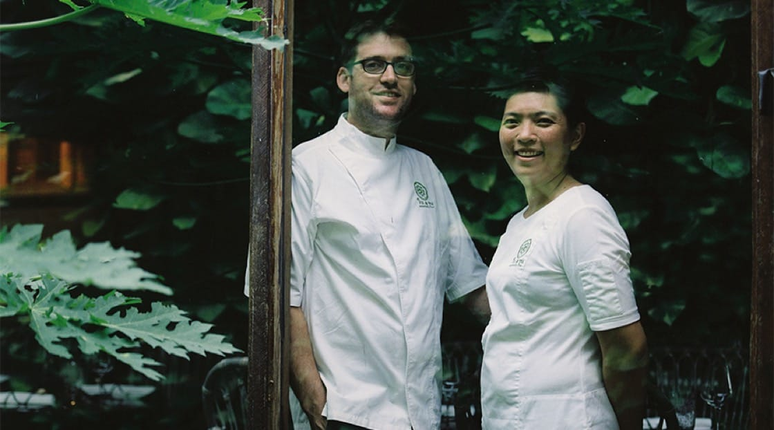 Chef Dylan (left) and Chef Bo (right) of Bo.lan. Photo Credit: Bo.lan.