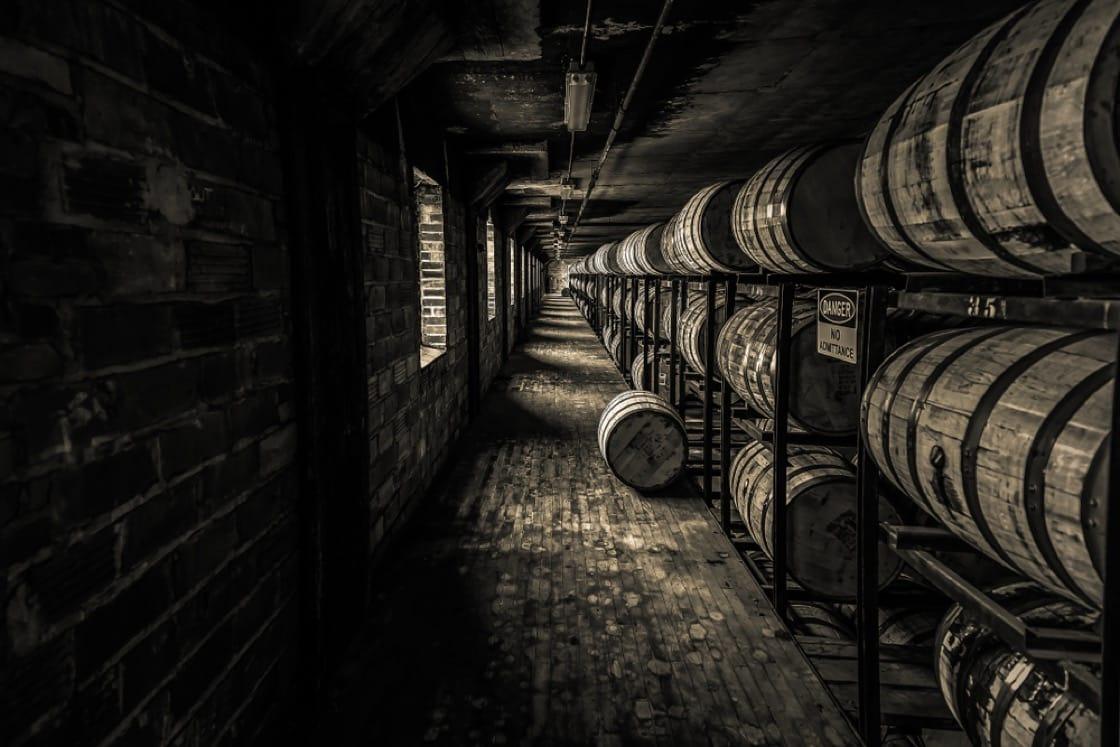 威士忌必须经过陈化,才能形成风味。(资料图片)