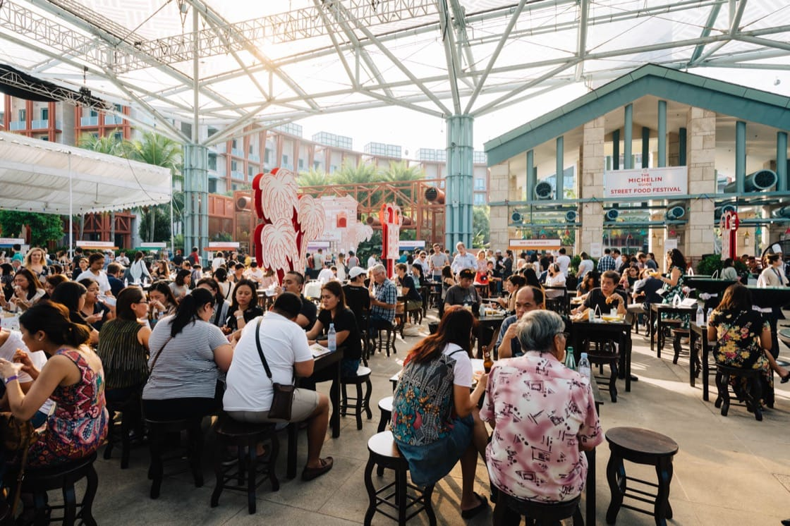 More than 4,000 diners visited the third edition of The MICHELIN Guide Street Food Festival.