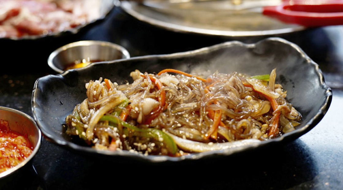 Japchae is usually a shared side-dish.