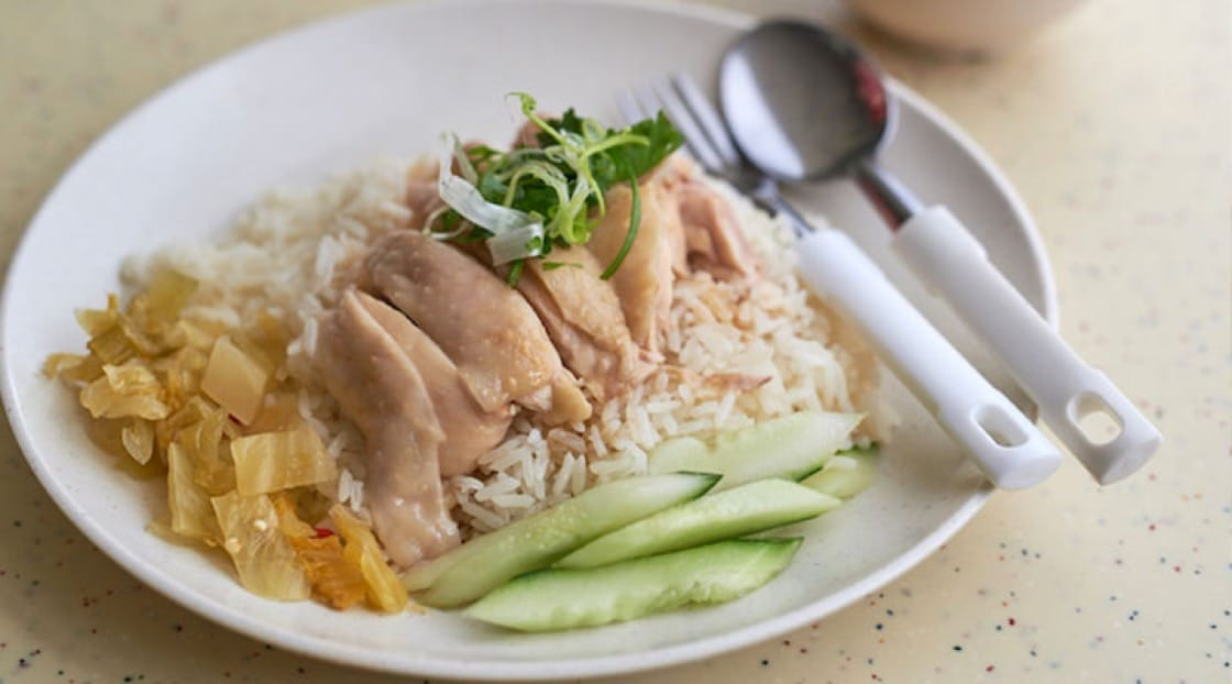 The humble chicken rice has many variations all across Southeast Asia.