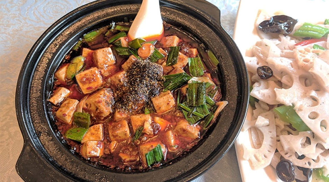Authentic mapo tofu is spicy in both the conventional heat and numbing spiciness.