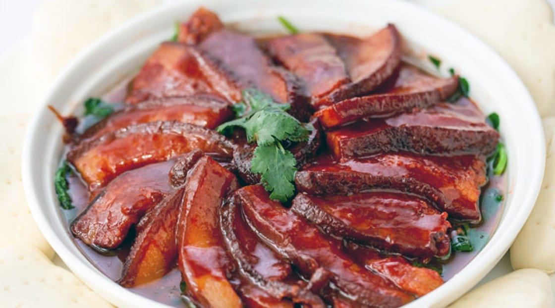 Red braised pork was the late revolutionary leader Mao Zedong's go-to dish.