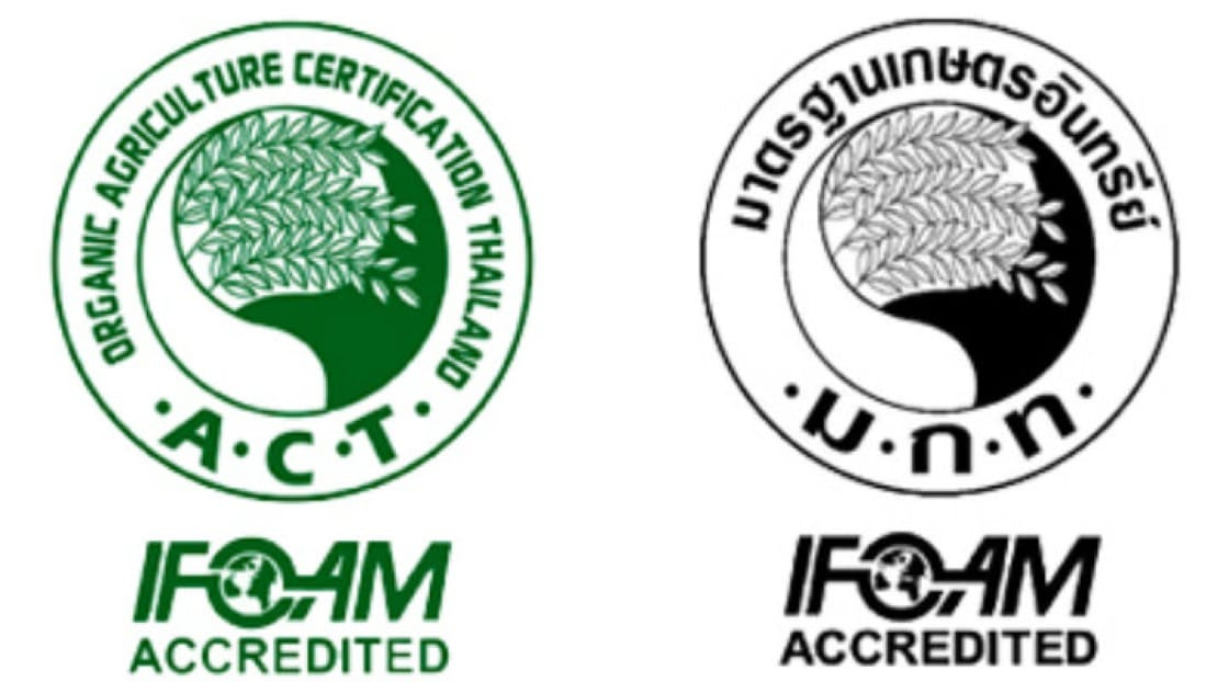 Organic Certification Logo.