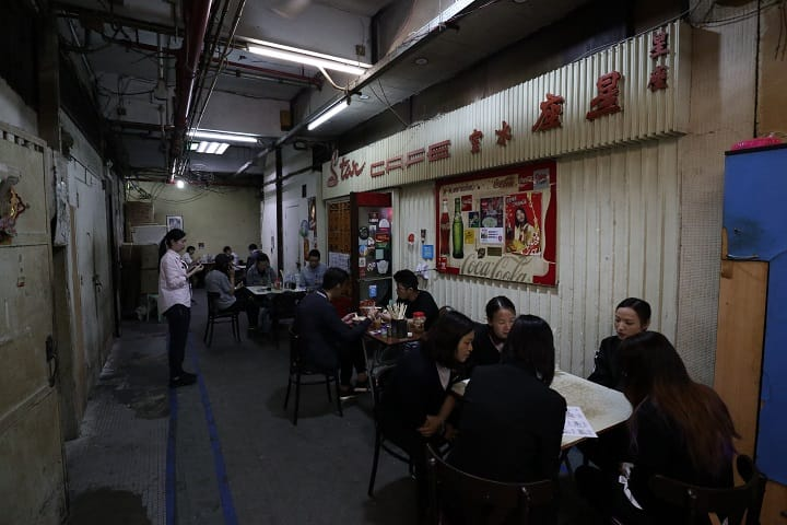 星座冰室是經典番茄麵元祖, 不少遊客專誠來朝聖。(圖片:陳佳男)