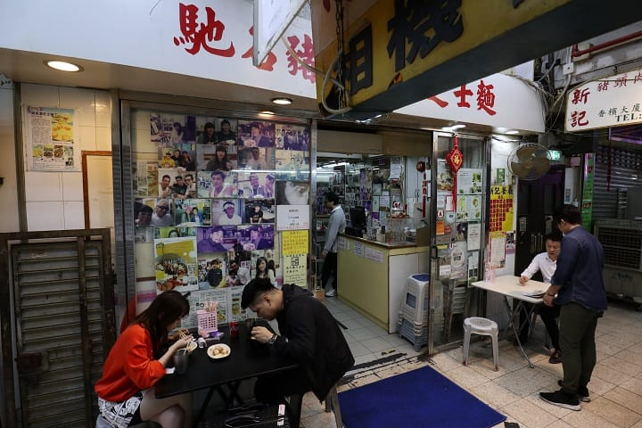 新記餐廳以一道芝士撈丁享負盛名。(圖片:陳佳男)