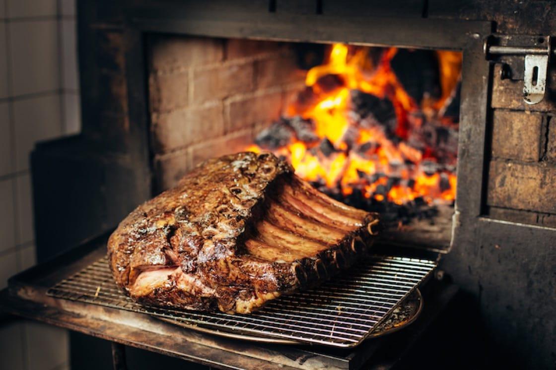 75 天乾式熟成和牛。 (圖片來源:Burnt Ends)