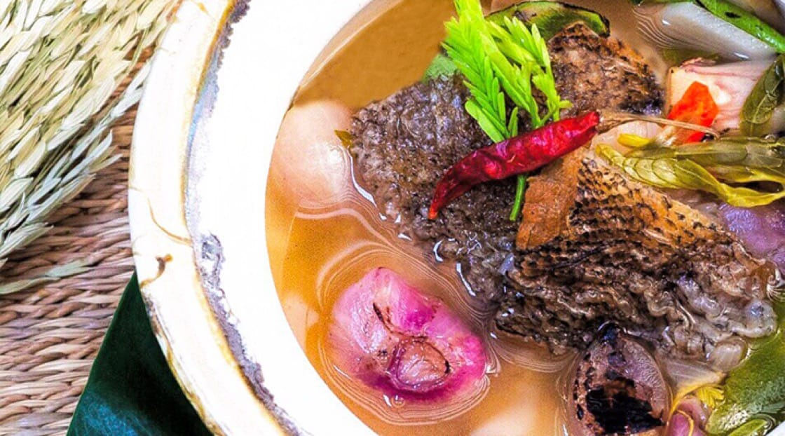 《米其林指南》必比登推介 The Local 餐館的泰式酸魚湯(Tom Kloang Pla Salid Makaam)