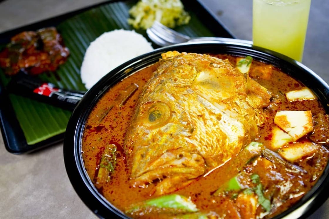 Muthu's signature fish head curry (Pic: Muthu's Curry Facebook)