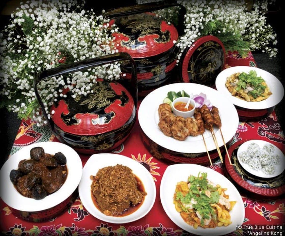 Peranakan dishes at True Blue Cuisine (Pic: True Blue Cuisine)