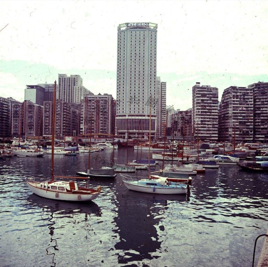 70年代的香港怡東酒店(圖:香港怡東酒店)