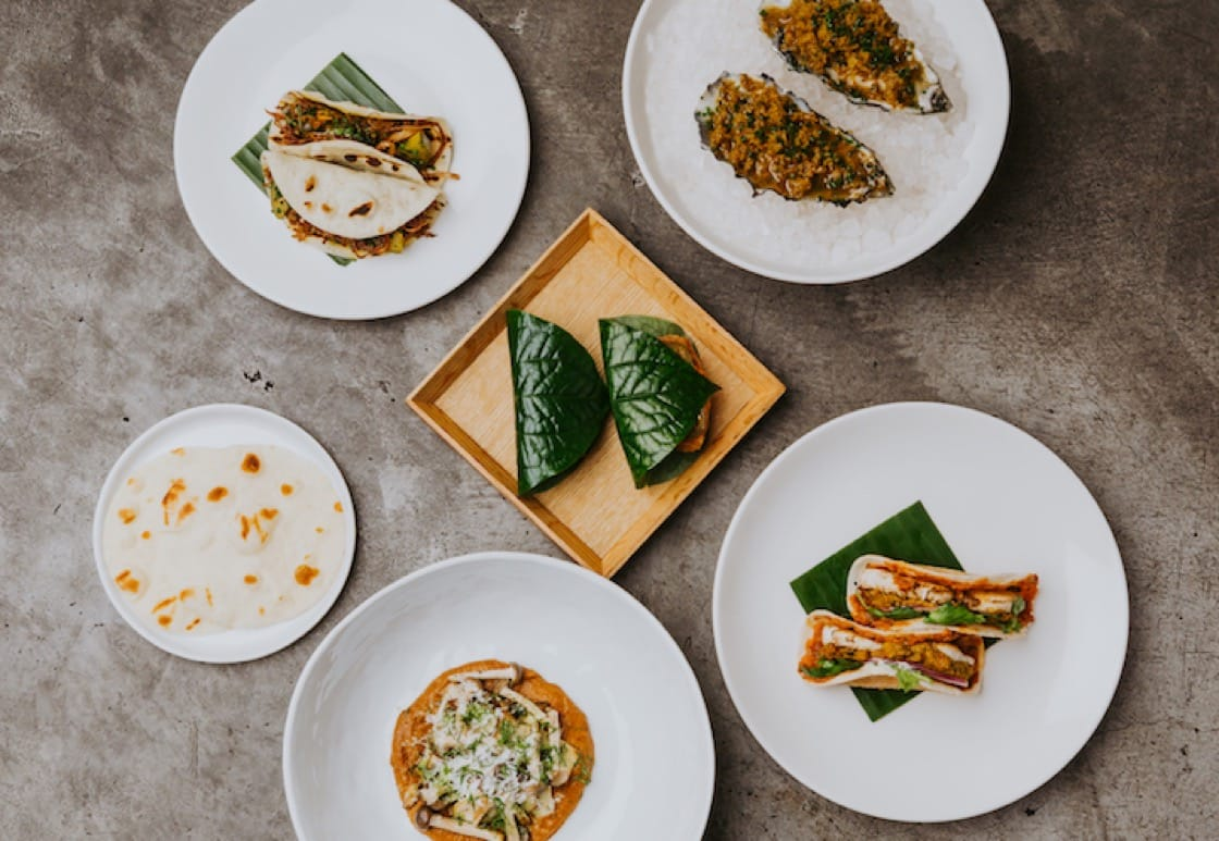 Chef Thevar creates smaller dishes and snacks in his casual eatery so that diners can sample a variety of flavours. (Photo: Thevar)