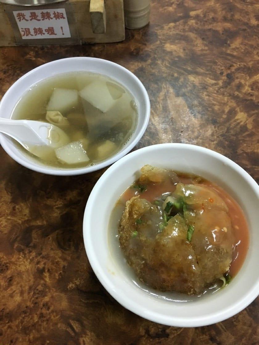 The crispy ba-wan at Wu Ji. (Pic: Kai Ho)