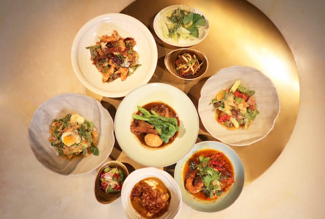 David Thompson在Aaharn展示他對泰式料理的深入研究與廚藝。(照片:Aaharn)