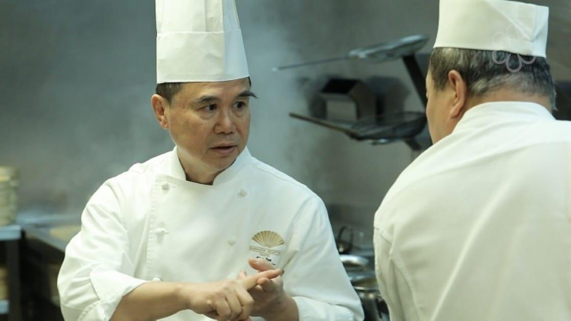 雅閣中餐廳主廚謝文對食材非常要求,他說,這是一位廚師能夠發揮技術的關鍵。