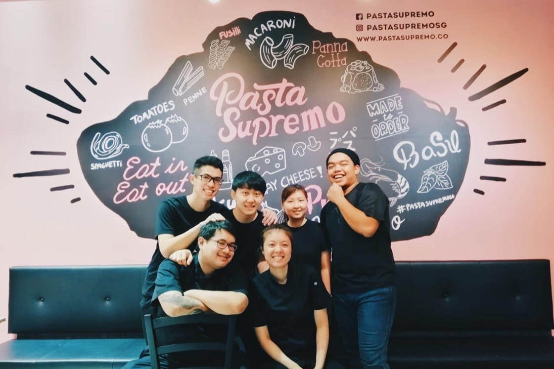 The Pasta Supremo Team love each other very much. (Pic: Pasta Supremo)