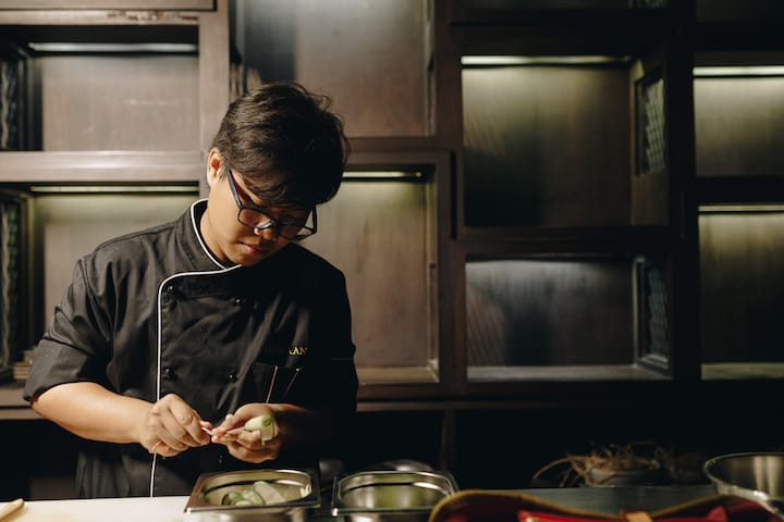 Chef Aom hopes to spread more awareness about using lesser-known Thai ingredients. (Photo: Saawaan)