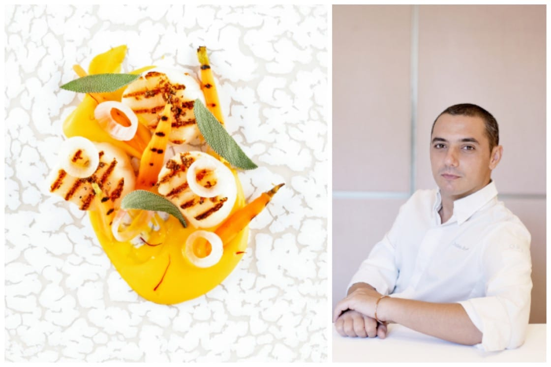 From April 2019 to March 2020, Julien Royer's new signature dishes will be served exclusively in Air France's La Première and Business cabins departing Singapore