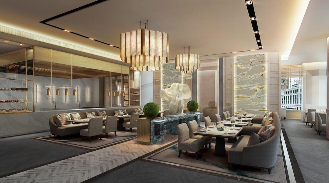 新開幕的瑞吉酒店的L'Envol法國餐廳,將由曾於多家米芝蓮星級餐廳工作的Olivier Elzer掌勺。(圖片:瑞吉酒店提供)