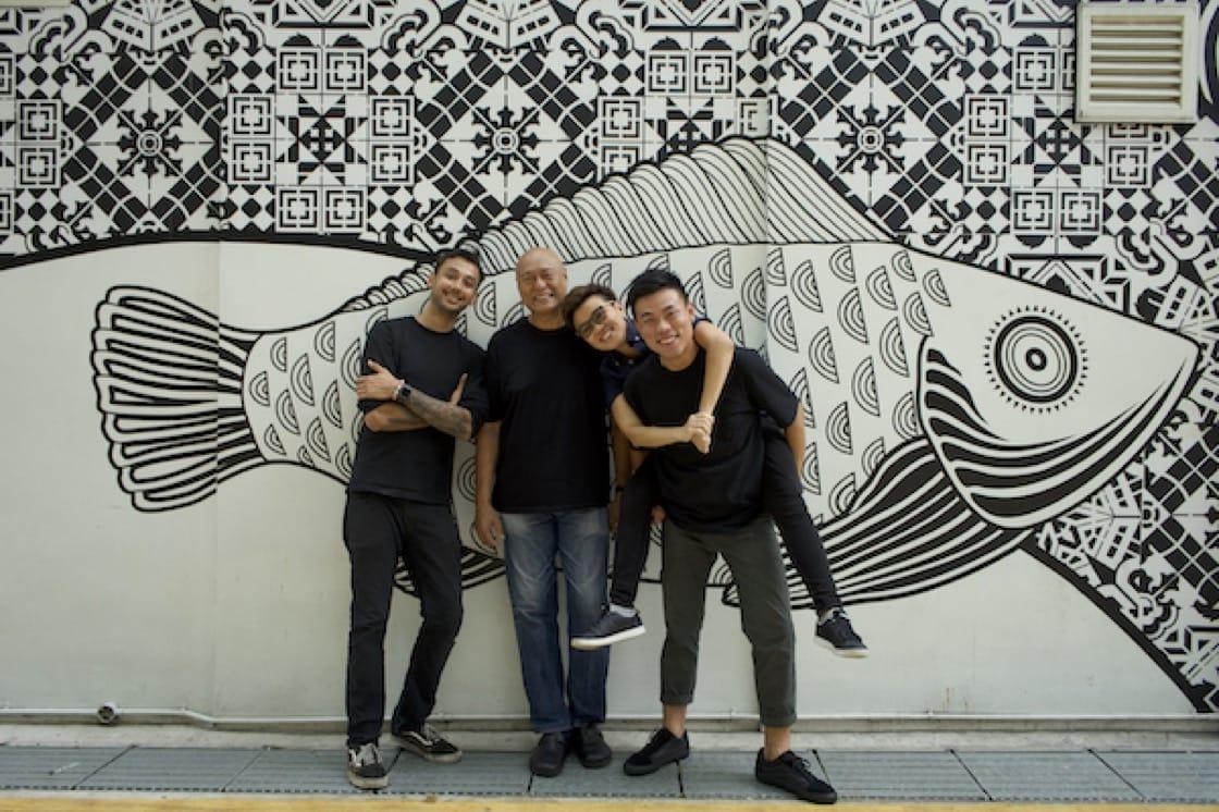From Left: Sam Chablani, Damian D'Silva, ArChan Chan, Jeremmy Chiam (Pic: Ryan Acompanado)
