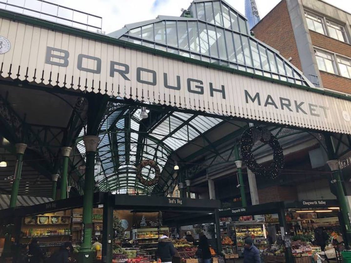 Borough Market in South London is one of chef Gary Rhodes' go-to places for British produce. (Photo: Borough Market Facebook)