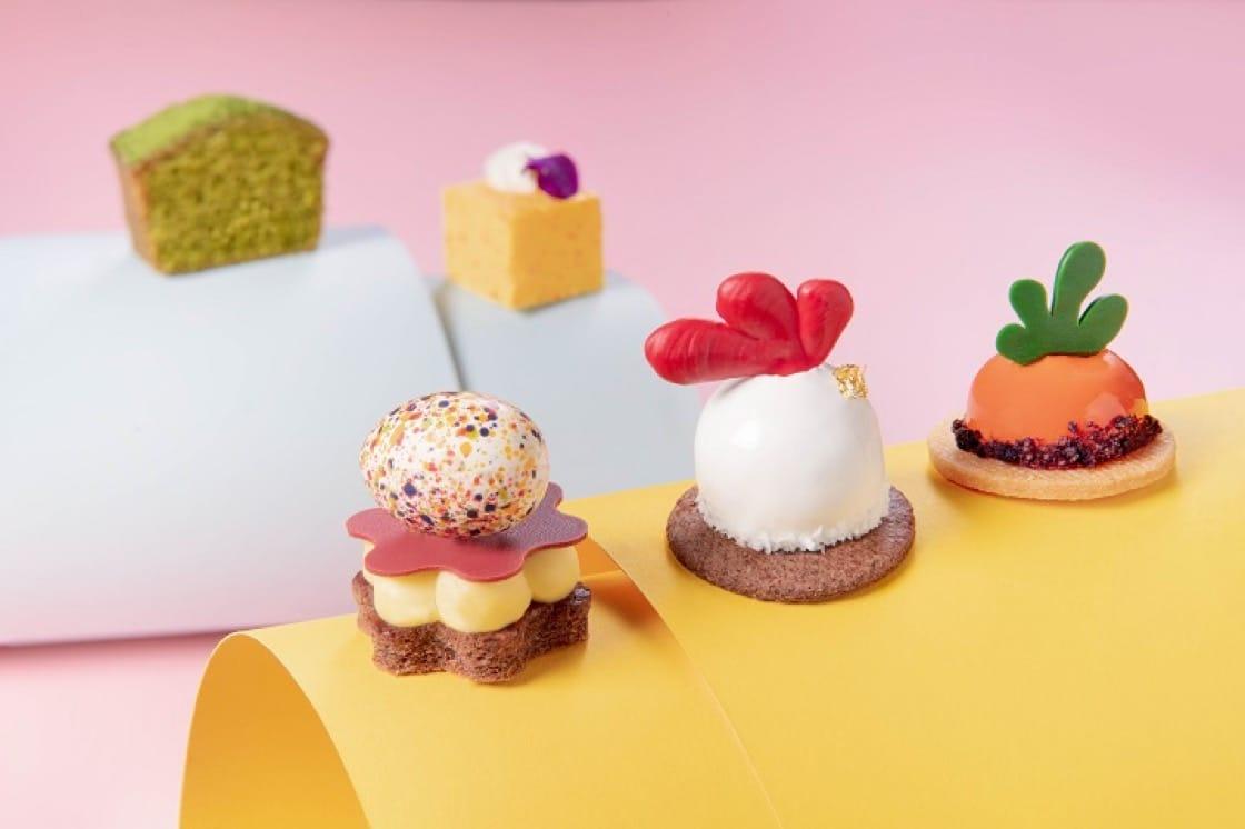 復活節特備精巧可愛甜點,女士和小朋友最合適。(圖片:香港文華東方酒店)