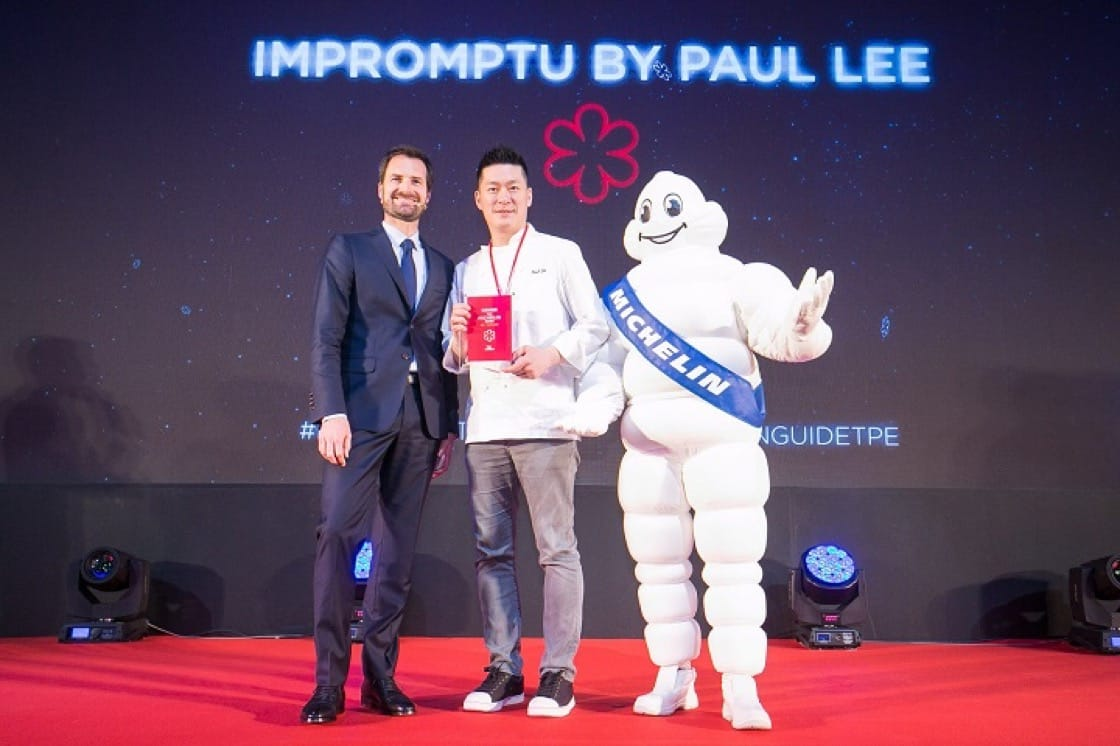 Chef/owner Paul Lee led Impromptu by Paul Lee to one MICHELIN star in the MICHELIN Guide Taipei 2019. (Photo by MICHELIN Guide Digital.)