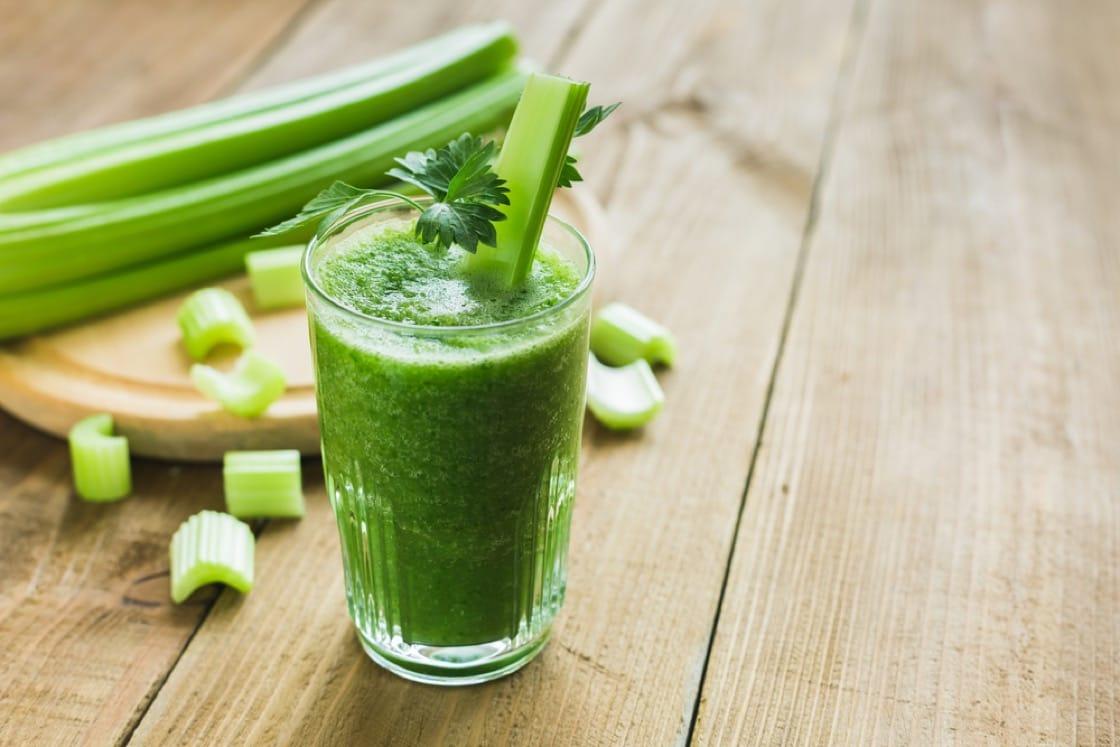芹菜汁自古已是健康飲品。(資料圖片)