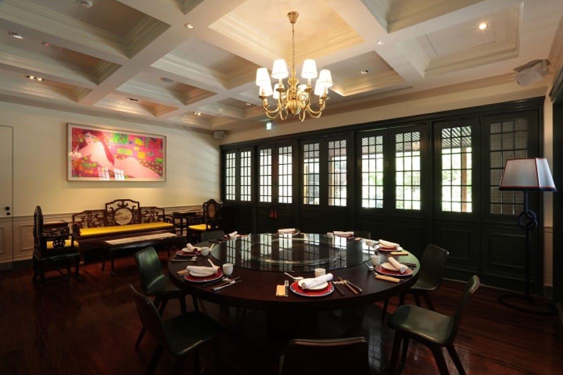 山海樓不僅料理,就連裝潢與氣氛,都希望復刻1930台灣的酒樓風華。