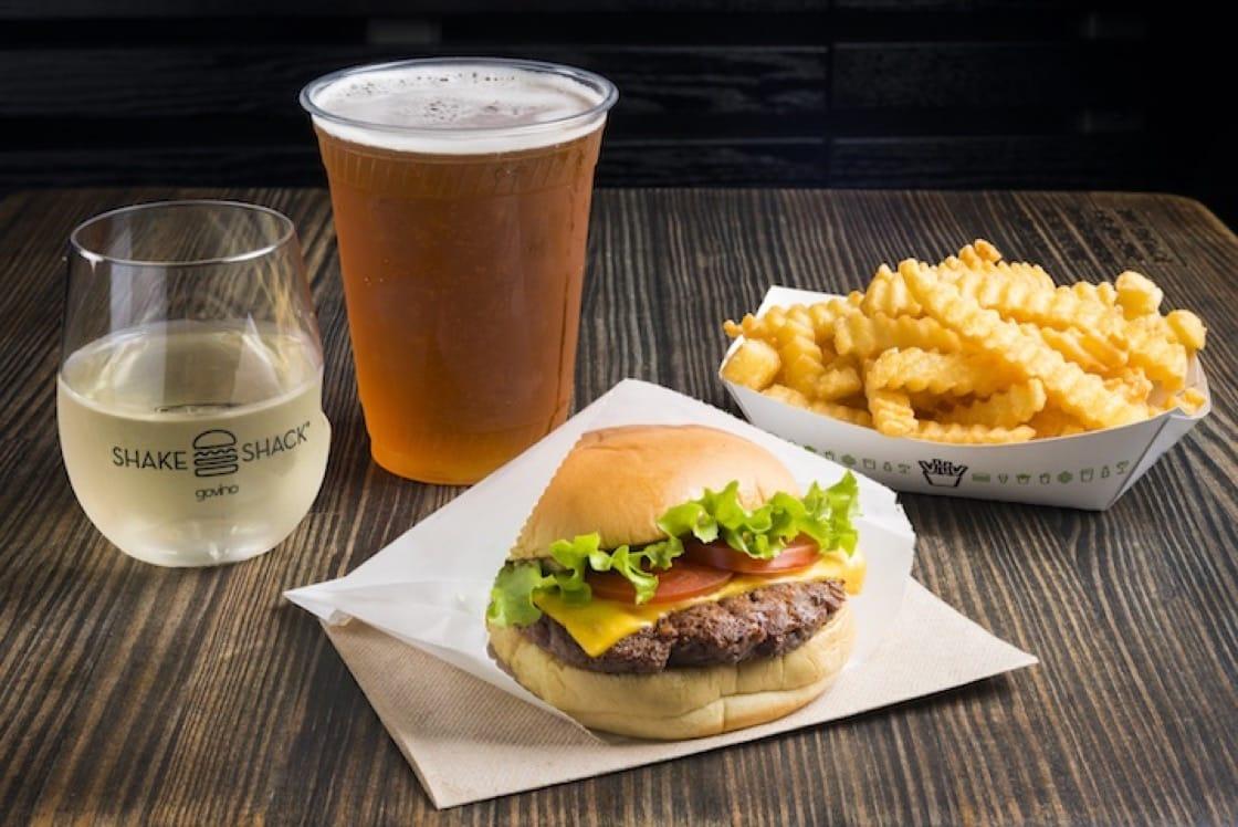 Shake Shack's iconic ShackBurger served with its classic crinkle-cut fries. (Photos: Shake Shack)