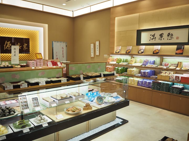 Minamoto Kitchoan brings in wagashi and snacks across Japan. (Photo: Kenneth Goh)