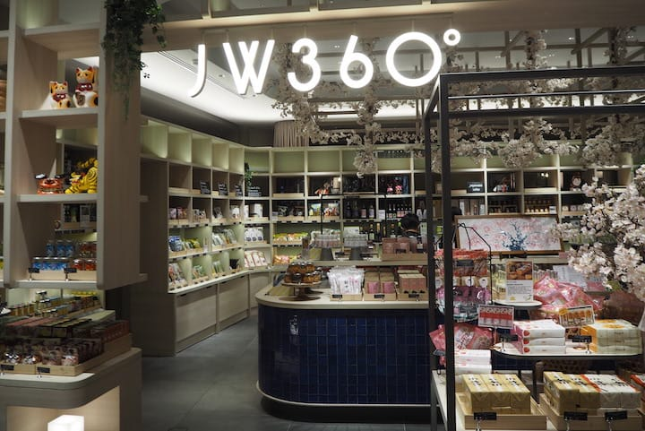 JW 360° gathers snacks, cookies and tipples from all over Japan. (Photo: Kenneth Goh)