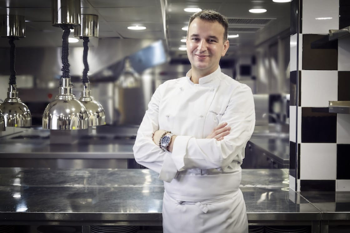 Sebastien Lepinoy, executive chef of Les Amis Restaurant, played a crucial role in helping the restaurant to secure two Michelin stars. (Photo: Les Amis Group)