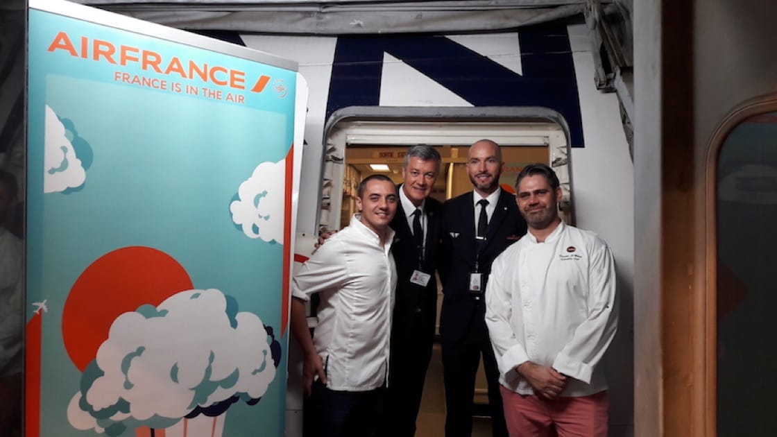 Royer has just embarked on a year-long collaboration with Air France (Pic: Air France)