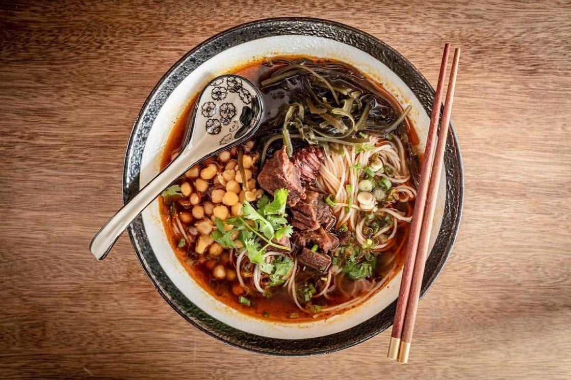 Homemade Sichuan rice noodles at Chuan Hung (Pic: Chuan Hung)