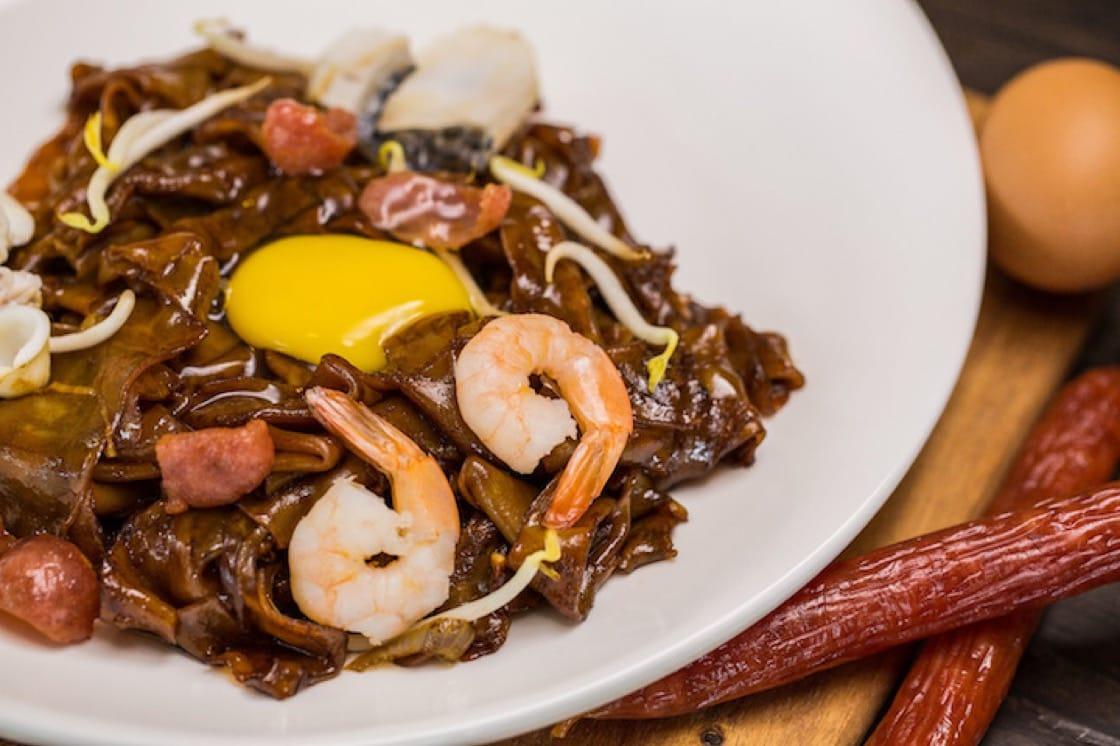 瓊榮記海鮮的月光河粉是韓立光主廚的最愛煮炒美食之一。(照片:瓊榮記海鮮)