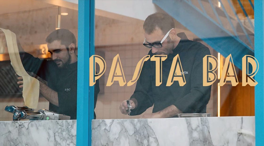 It's all about pasta at La Dotta.