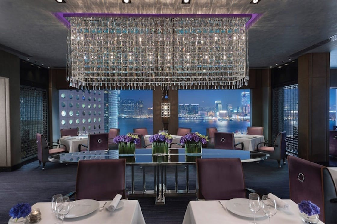 The interior of Pierre at the Mandarin Oriental Hotel Hong Kong (Pic: Mandarin Oriental Hotel Hong Kong)