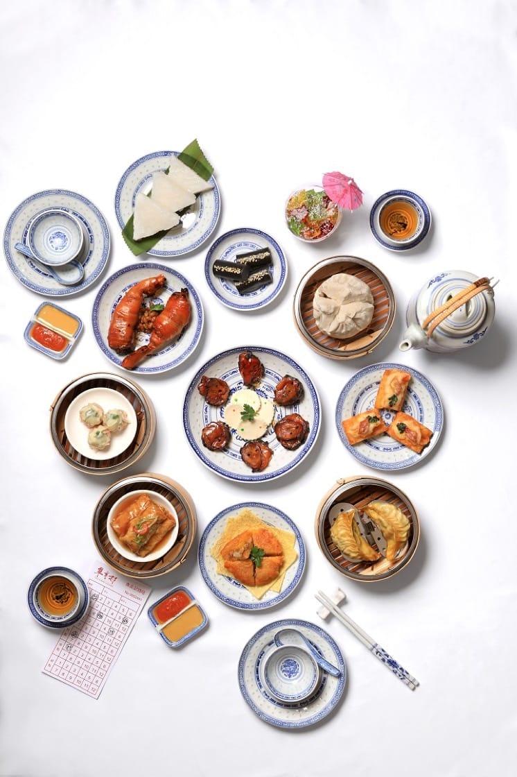 翠亨邨最近在午市推出期間限定的 80 年代懷舊點心,可以帶媽媽回味一番。(圖片:翠亨邨提供)
