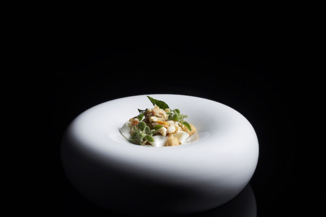 At the Esplanade, one-Michelin-starred Labyrinth offers a five-course pre-theatre menu. (Photo: Labyrinth)