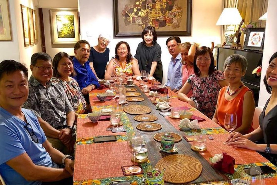 Acclaimed violinist Lynnette Seah hosts private dining sessions with Peranakan food in her home. (Photo: Lynnette's Kitchen)