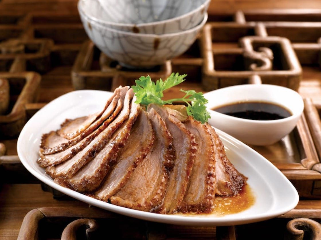 Teochew Braised Duck is one of the time-honoured classics at Zui Yu Xuan Teochew Cuisine. (Photo: JUMBO Group)