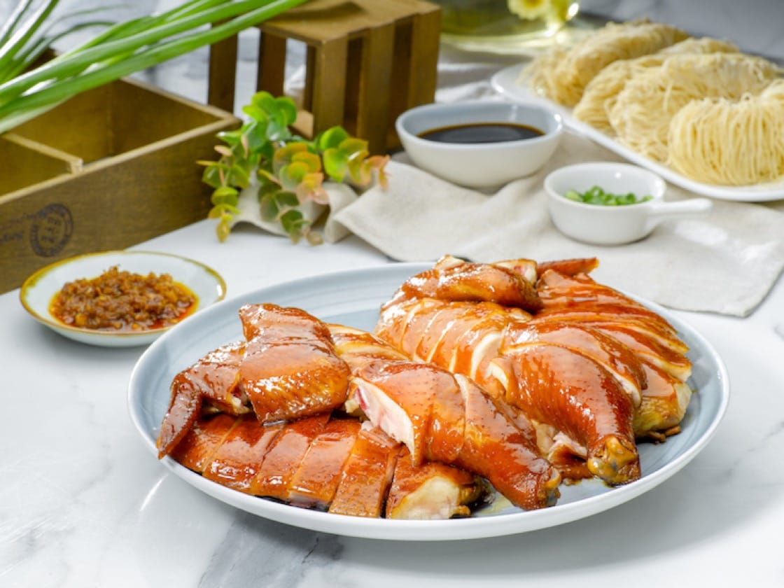 Specialty Rose Wine Soy Sauce Chicken is one of Ho Fook Hei's signature dishes. (Photo: Ho Fook Hei)