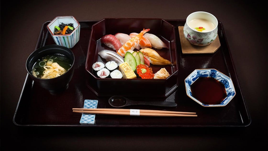 Bento perfection from Yamazato at the Okura Prestige. Photo courtesy of the Okura Prestige Bangkok.