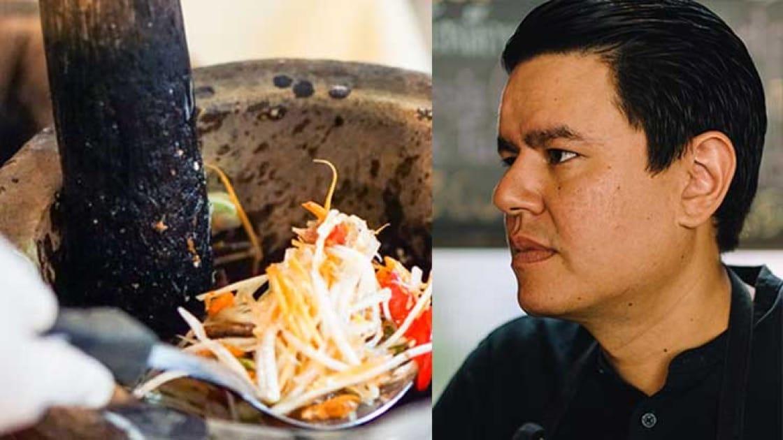 Chef Chalee Kader of 100 Mahaseth.