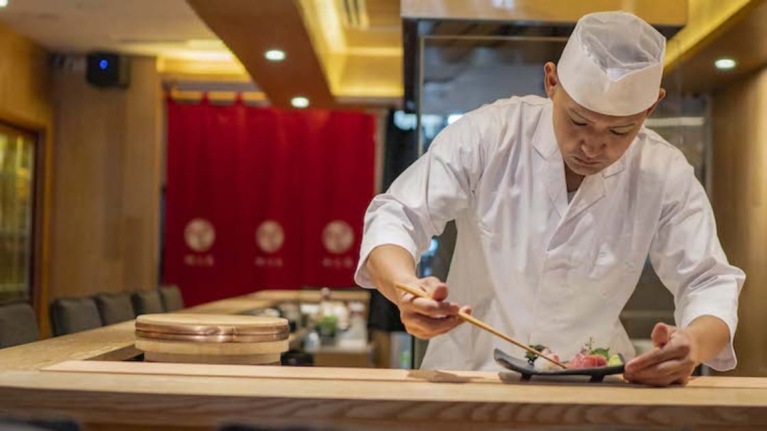 Jimoto Dining is helmed by chef Takahiro Sato, who used to work in Hashida Sushi here and Melbourne's Kakizaki restaurant. (Photo: Jimoto Dining)