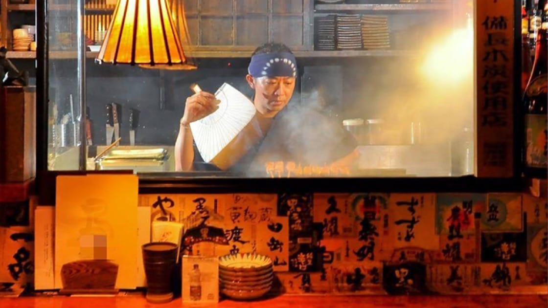 Yakitori skewers are a must-order at Jidori Cuisine Ken. Photo courtesy of Jidori Cuisine Ken.