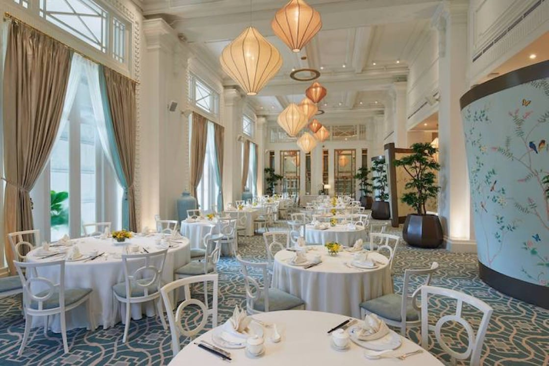 Jade Restaurant in The Fullerton Hotel Singapore will host the International Chef Showcase between Jade and Macau's Jade Dragon. (Photo: The Fullerton Hotel FB Page)