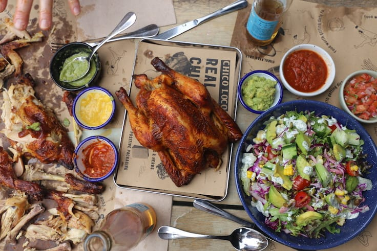 Chico Loco specialises in Mexican-style spit-roasted chickens. (Photos: Chico Loco)